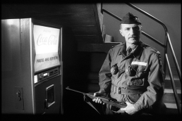 Keenan Wynn and a Coke machine, Dr. Strangelove (publicity still?)